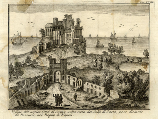 Inc. in rame, f. 19,9x14,6. Thomas Salmon, Venezia 1761