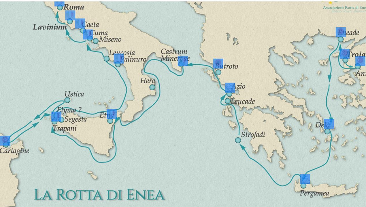 Nuove strategie per il turismo in Campania. Sulla Rotta di Enea. –  QuiCampiFlegrei